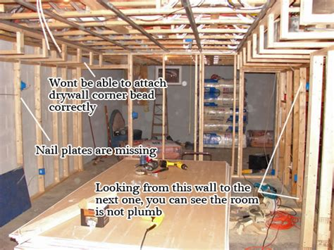 average cost to frame a basement finishing a basement framing basement gallery