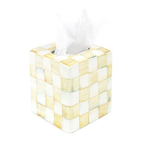 Tissue Box Cover buy mackenzie childs parchment check enamel tissue box