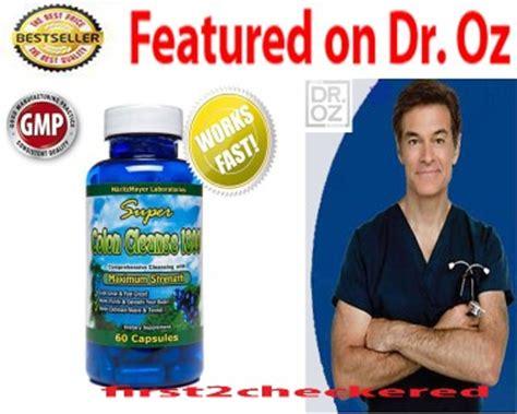 Dr Oz Detox For Constipation by Colon Cleanse 1800 Maximum Cleansing Detox