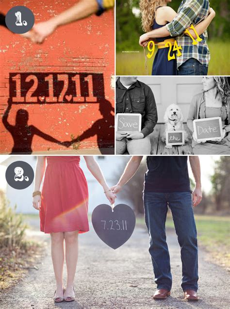 date ideas save the date ideas pinpoint