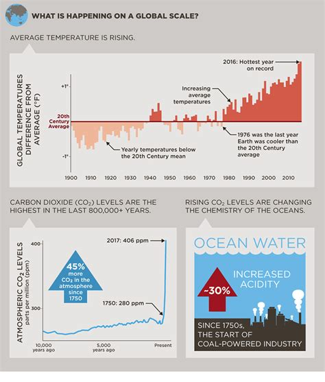 climate change infographic king county