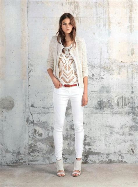 stylish white jeans outfit ideas   occasion