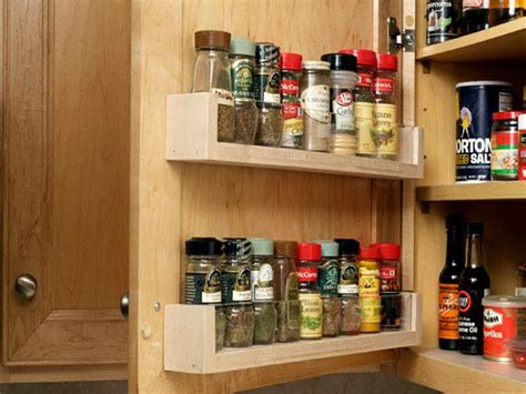 Spice Storage Cabinet Cabinet Shelving How To Build Diy Spice Rack Organizer