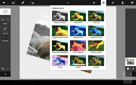 photoshop for android adobe photoshop touch for android review