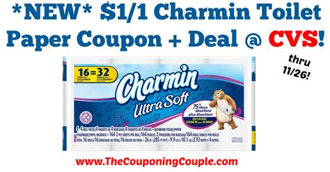 Who Makes Charmin Toilet Paper - new 1 1 charmin toilet paper coupon makes for a great