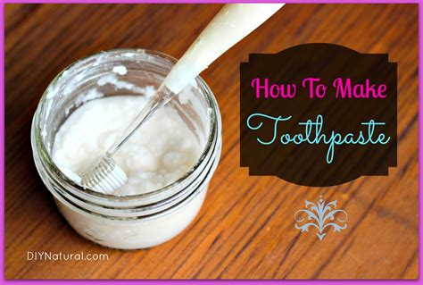toothpaste a recipe that is simple and