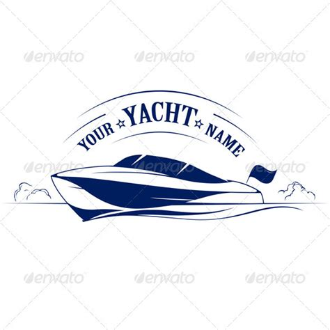 speed boat tattoo speed boat yacht icon by pixelin studio graphicriver