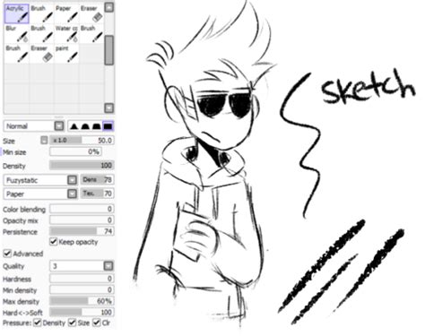 paint tool sai unprotected exception brush settings
