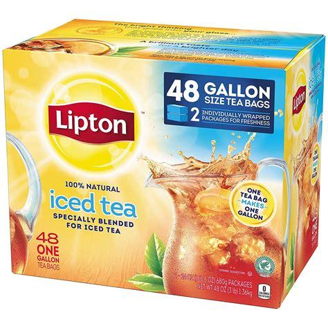 amazon tea amazon com lipton gallon sized black iced tea bags