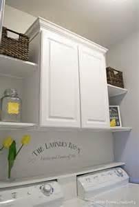 Laundry Room Wall Storage Laundry Room Makeovers Room Makeovers And Laundry Rooms On