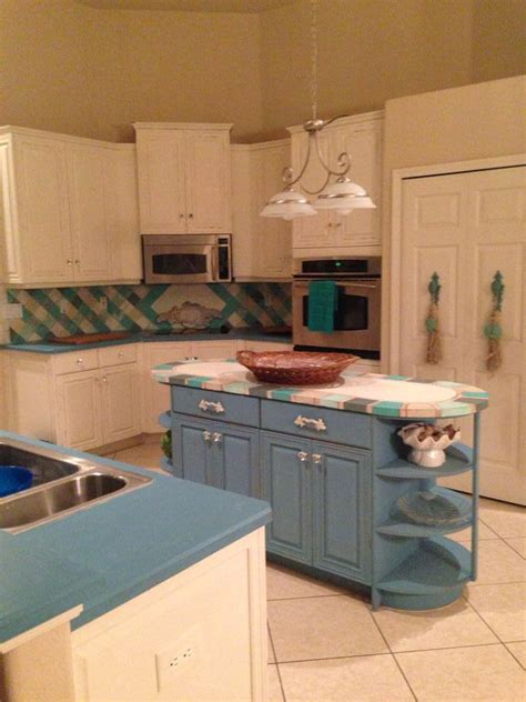 hometalk we redid our palm coast kitchen with coastal colors paint