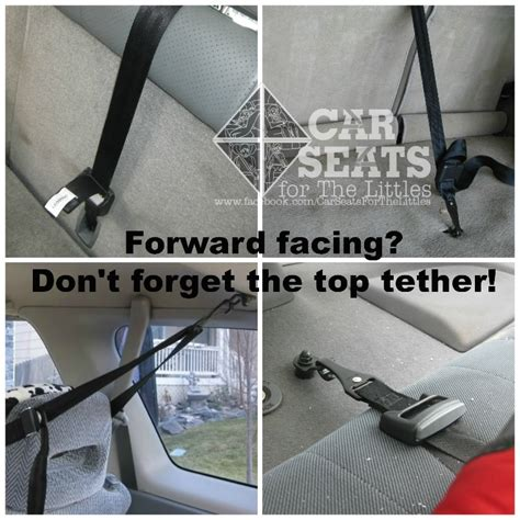 car seat tether is your child safe in his car seat car seat safety 101