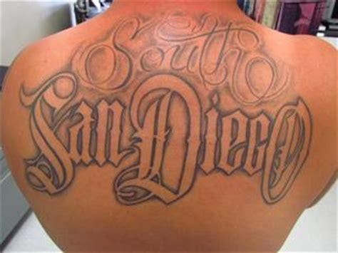 tattoo lettering san francisco san diego lettering on back wylde sydes tattoo and body