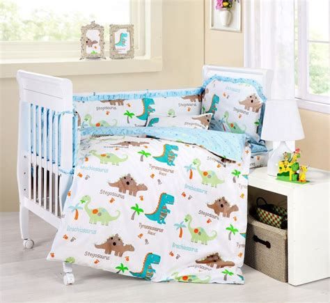 baby bedding crib cot sets 9 dinosaurs theme