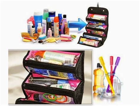 Roll And Go Makeup Tools Travel Bag roll n go cosmetic bag makeup toiletry travel buddy free