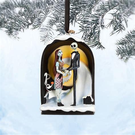 jack and sally christmas ornaments disney store nightmare before 20th anniversary ornament sally nib ebay