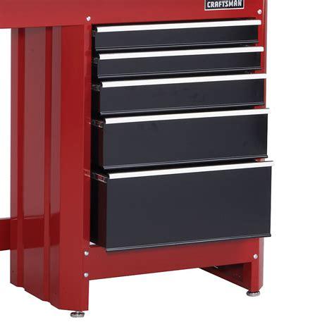 craftsman  drawer workbench module redblack shop