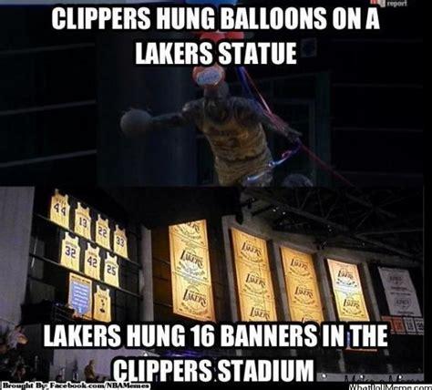 Lakers Memes - nba memes on twitter quot lakers vs clippers http t co