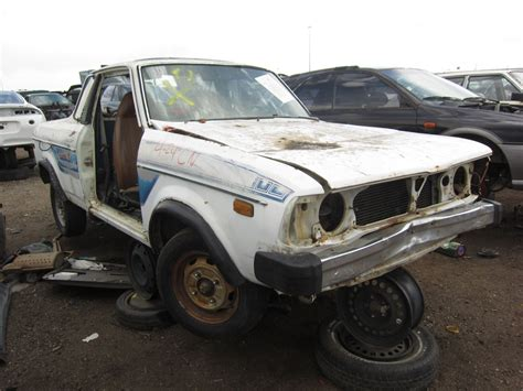 brat car junkyard find 1979 subaru brat the about cars