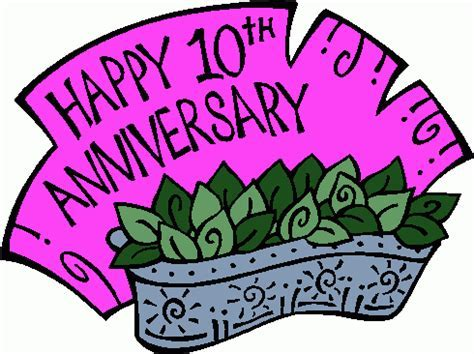 Free 10th Anniversary Cliparts, Download Free Clip Art