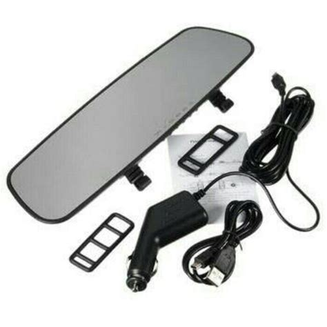 Kamera Spion Mobil Cermin Rear View Mirror Hd 720p jual beli car dvr kaca spion rearview mirror hd