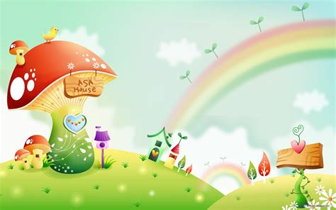 wallpaper rainbow cartoon rainbow cartoon wallpaper 762338