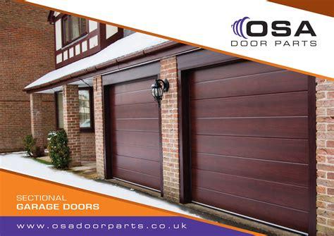 garage door parts sectional garage door brochure 187 osa door parts limited