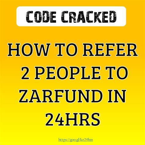 bitcoin referral how to get 2 referrals easily with in 24 hours to zarfund