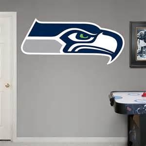 seattle seahawks logo wall decal shop fathead 174 for