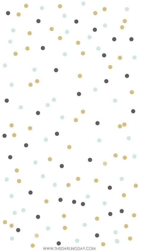 dot pattern lock for iphone white navy mint confetti spots iphone phone background