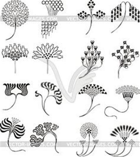 ornamente jugendstil ornamente im jugendstil vector clipart eps jugendstil