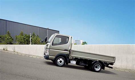 mitsubishi small truck 三菱ふそう 新型小型トラック キャンター 発表 国内トップレベルの省燃費を実現 motor cars