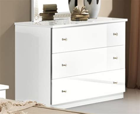 commodes but commode 3 tiroirs athena chambre a coucher blanc