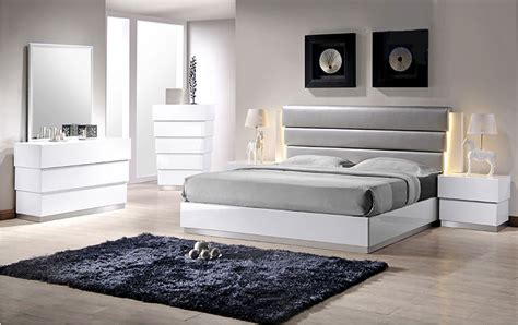modern white bedroom sets milan white bedroom set contemporary bedroom