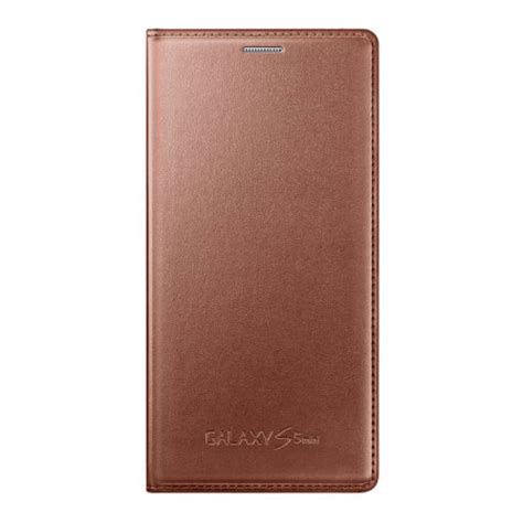 Flip Cover S5 official samsung galaxy s5 mini flip cover gold