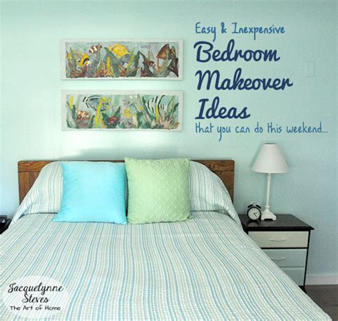 easy bedroom makeover - Simple Bedroom Makeovers