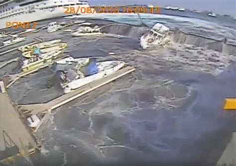 carnival vista boat carnival vista damages boats and pier in italy