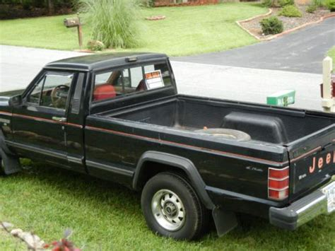 1986 jeep comanche black purchase used 1986 jeep comanche x black 4wd 4x4 bed