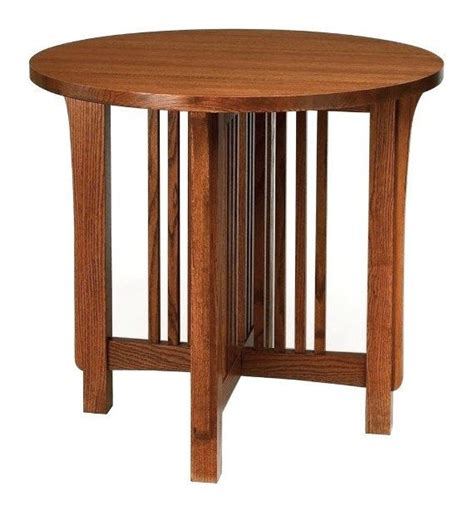stickley end tables mission arts crafts stickley style end table