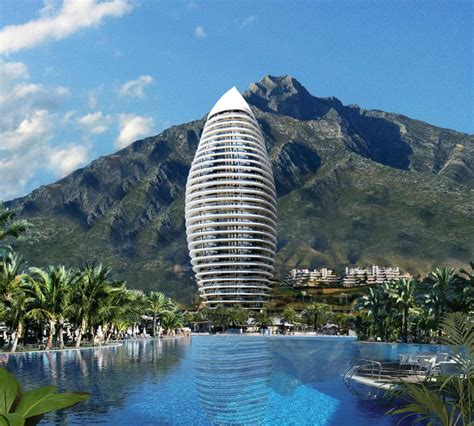 New Floor Plans by Marbella Skyscraper Project Halted Until Further Notice