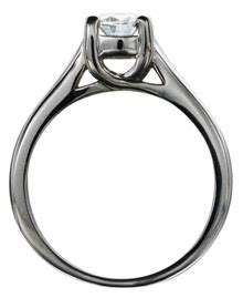 Trellis Setting Trellis Setting Engagement Rings Picture Image By