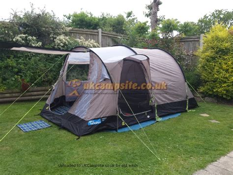 Kampa Awnings Reviews Kampa Oxwich 4 Tent Reviews And Details