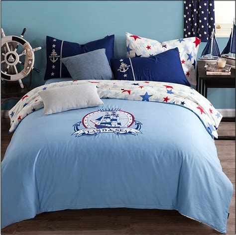 Nautical Bed Sheets by Popular Nautical Duvet Covers Buy Cheap Nautical Duvet