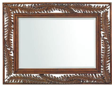 tropical bathroom mirrors bahama home bali hai seabrook landscape mirror
