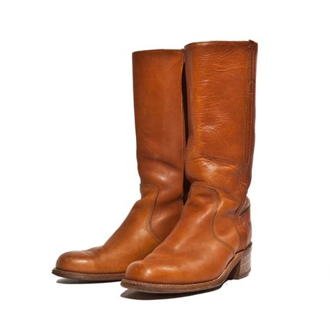 vintage boots vintage frye boots high cus style ranch boots for a