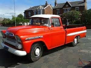 1958 Chevrolet Apache For Sale Chevy Apache 1958