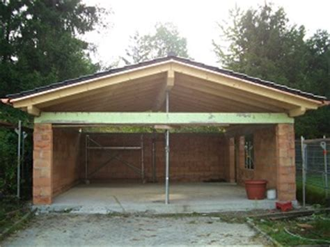 carport mit rolltor carport garage holzbau breckel