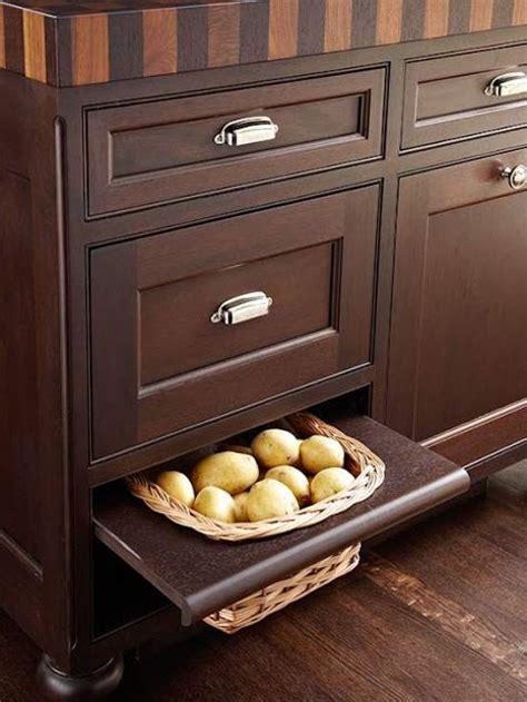 potato and storage cabinet organizing small kitchens storage ideas for small kitchen