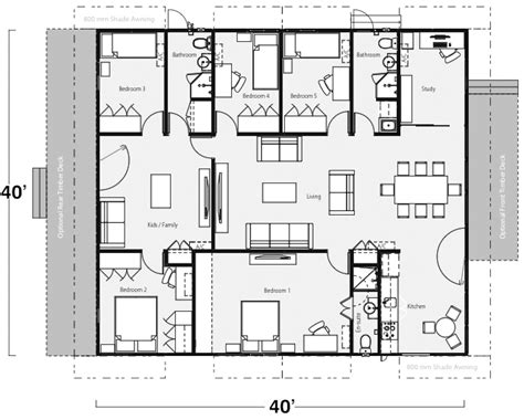 Intermodal Shipping Container Home Floor Plans Below Are Exle One Two Three