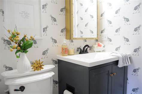 Haus Of Vanity by Charcoal Gray Vanity Eclectic Bathroom Farrow And